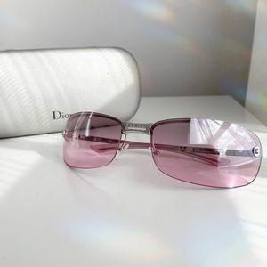 Dior vintage sunglasses in rose pink